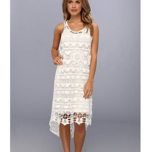 Free People Chemical Lace Crochet Dress RARE